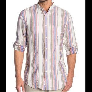 NWT | Onia Eddy Shirt Tencel Linen Blend Button Up